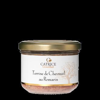 Terrine de  chevreuil au romarin