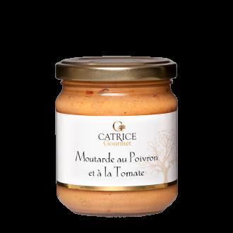 Moutarde à la Tomate et au poivron