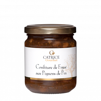 Confiture de Figue aux pignons de pin