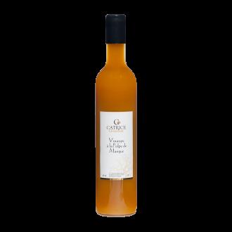 Vinaigre à la  pulpe de Mangue - 50 cl