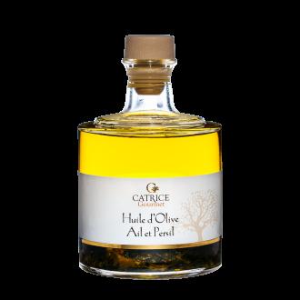 Huile d'olive à l'Ail et Persil - bouteille empilable