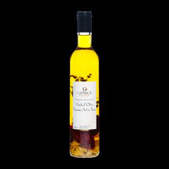 Huile d'olive aux Tomates, Ail et Thym - 50 cl