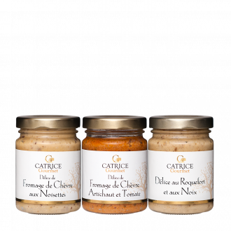 Trio tartinables aux fromages